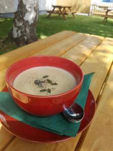 Soup in the garden