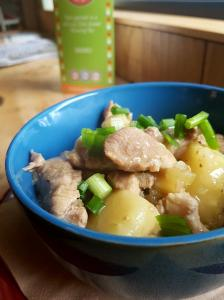 White wine pork stew